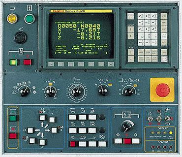 fanuc machine controls